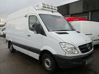 2005 58-REG Mercedes Sprinter 311CDI MWB FRIDGE FREEZER. Direct from John Lewis
