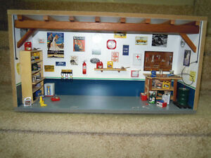 1/18 scale Garage Diorama Stratford Kitchener Area image 1