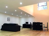 Awesome double room in huge warehouse conversion flat share!