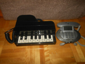 Piano Touch Tone Telephone