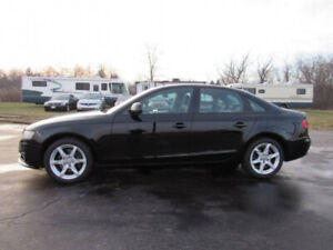 2011 Audi A4 Quattro - AWD, Leather heated seats
