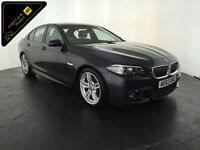 2013 63 BMW 520D M SPORT AUTOMATIC 1 OWNER BMW SERVICE HISTORY FINANCE PX