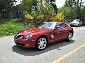 2004 Chrysler Crossfire Coupe Hatchback, Leather, Very low Km!!!