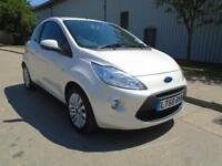 2010 (60) FORD KA 1.2 ZETEC PEARLESCENT WHITE LOW MILEAGE