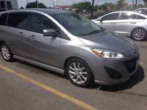 2012 mazda 5 gt fully loaded in great condition