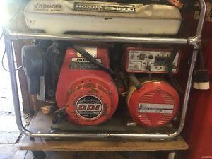 Honda 4500 generator