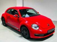 VW VOLKSWAGEN BEETLE 1.6 TDI BLUEMOTION 2014 RED DIESEL MANUAL BUG HATCH
