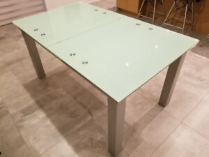 Table salle a diner extensible, 190x90 ou 150x90
