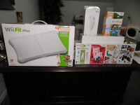 EXERCISE & GAMES FOR THE WHOLE FAMILY WITH NITENDO WII