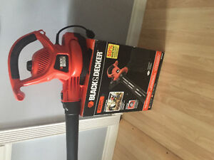 Black and decker leaf blower new