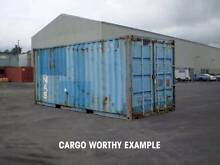 20ft Cargo Worthy B Grade Container Budget Price Wellington Wellington Area Preview