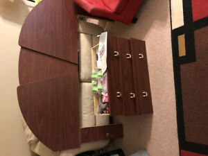 Free Beautiful dresser with mirror and headboard