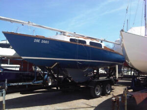 Shark 24 Sailboat for Sale (Hinterhoeller, hull 68, 1964)