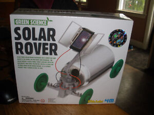 New Educational Green Science Solar Powered Robotic Rover Kids