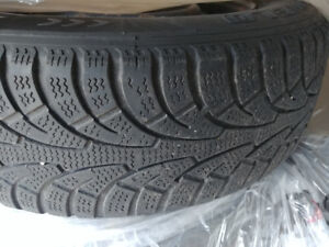 Four Winter Tires on Rims for Sale - 195 / 65 R15