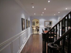 WAINSCOTING, WALL PANELING – DESIGN AND INSTALLATIONS