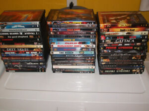 50 DVD'S FOR SALE .SCI-FI ETC. ALL IN EXCELLENT CONDITION