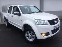 2012 62 GREAT WALL STEED 2.0TD 4X4 S IN WHITE BLACK LEATHER 1 OWNER