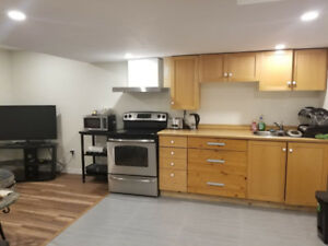 NEWLY BUILD 2 Bedrooms Basement Apartment (Near Heartland)