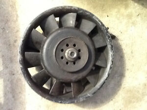 Aircooled 911 alternator / fan unit