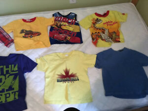 Boys 4 and 3 old shirts