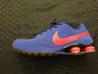 Pair of Nike Shox Blue and Red size 10.5  barely worn