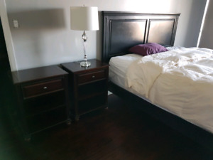 Two end tables Bowring