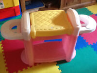 Toy box and doll bath, changing table Moncton New Brunswick Preview