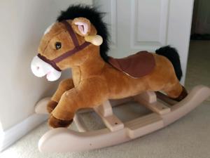 Rocking Musical Horse
