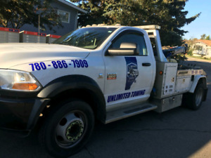 cheap Towing  services call now 780-886-7909