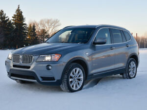 2011 BMW X3 xDrive35i Fully Loaded Great Condition!