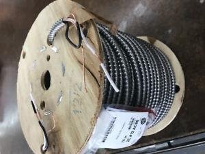 Rouleau de câble électrique 75 mètres calibre 12-2