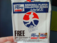 1992 DIET PEPSI BASEBALL COLLECTOR CARDS-COMPLETE SET