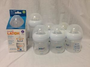7x NEW bottles. Avent and Munchkin