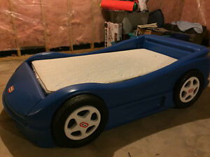 Race Car bed w/ Sealy Mattress $60/obo!