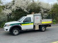 2010 60 FORD RANGER 2.5TDCI XL 4X4 143 BHP MANUAL DROPSIDE PICK UP WITH TOOL BOX