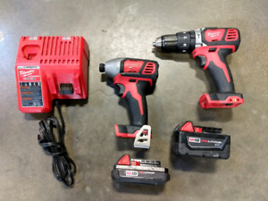 Milwaukee M18 Drill and Impact