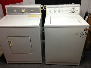 Washer and dryer set good working condition