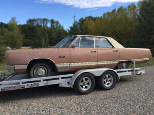 Rare, rust free, 1967 Plymouth VIP