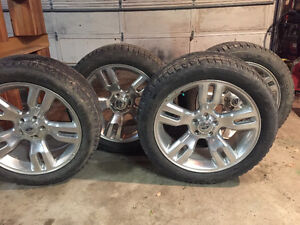 5 bolt Ford rims and tires 255/50r20