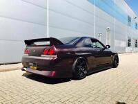 1994 L Nissan Skyline 2.5 GTST Turbo Manual+ ROSE BLACK + Bodykit/ GTR Styling