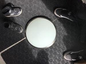 Interior lamp dome and shade