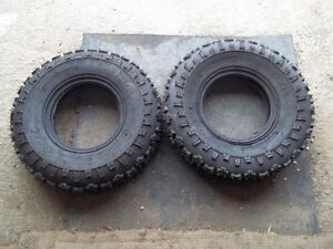 New Unused Carlisle 4-MAX 22x8x10 Tubeless ATV Quad Tires