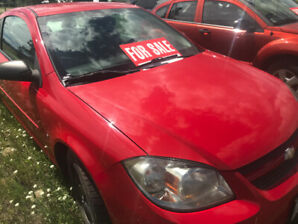 2009 Chevrolet Cobalt LS with only 121,000 kms. $5200 obo!