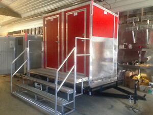 Portable Washrooms Showers Heated Air Conditioned Yukon image 11