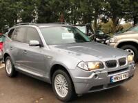 BMW X3 3.0 d SE 5dr AUTOMATIC [2005-55]