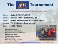 The Wild Tournament (Slo-Pitch) - Aug 24th-26th - Blackfalds, AB
