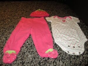 Carters three piece outfit (9M)