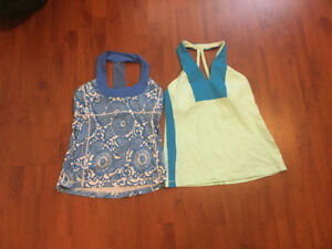 Lululemon tank tops size 10 (large). $20 each or 2 for $30.
