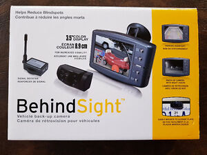 BehindSight Backup Camera Wireless System (Never Used)